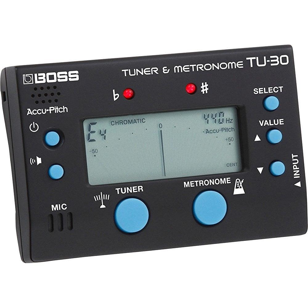 Tu: Boss TU-30 Guitar Tuner And Metronome