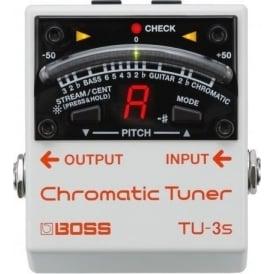 BOSS TU-3S Chromatic Pedal Board Guitar Tuner