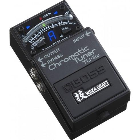 BOSS Waza Craft TU-3W Chromatic Guitar Tuner Pedal