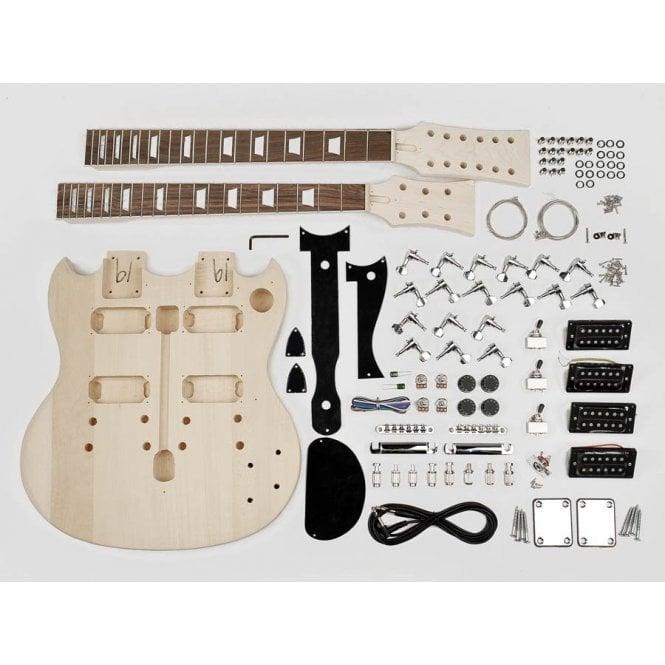 Guitar Parts Boston : boston double neck guitar assembly kit kit dn 10 ~ Hamham.info Haus und Dekorationen