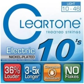 Cleartone 9410 Coated Nickel Wound Electric Guitar Strings 10-46 Light