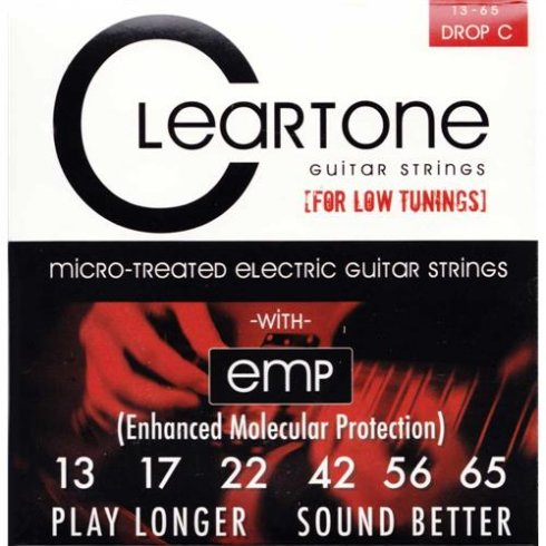 Cleartone 9465 Monster Heavy Series Drop C 13-65 NPS Electric Guitar Strings