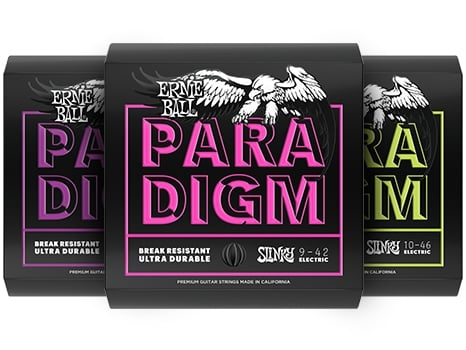 PARADIGM. Break resistant guitar strings.
