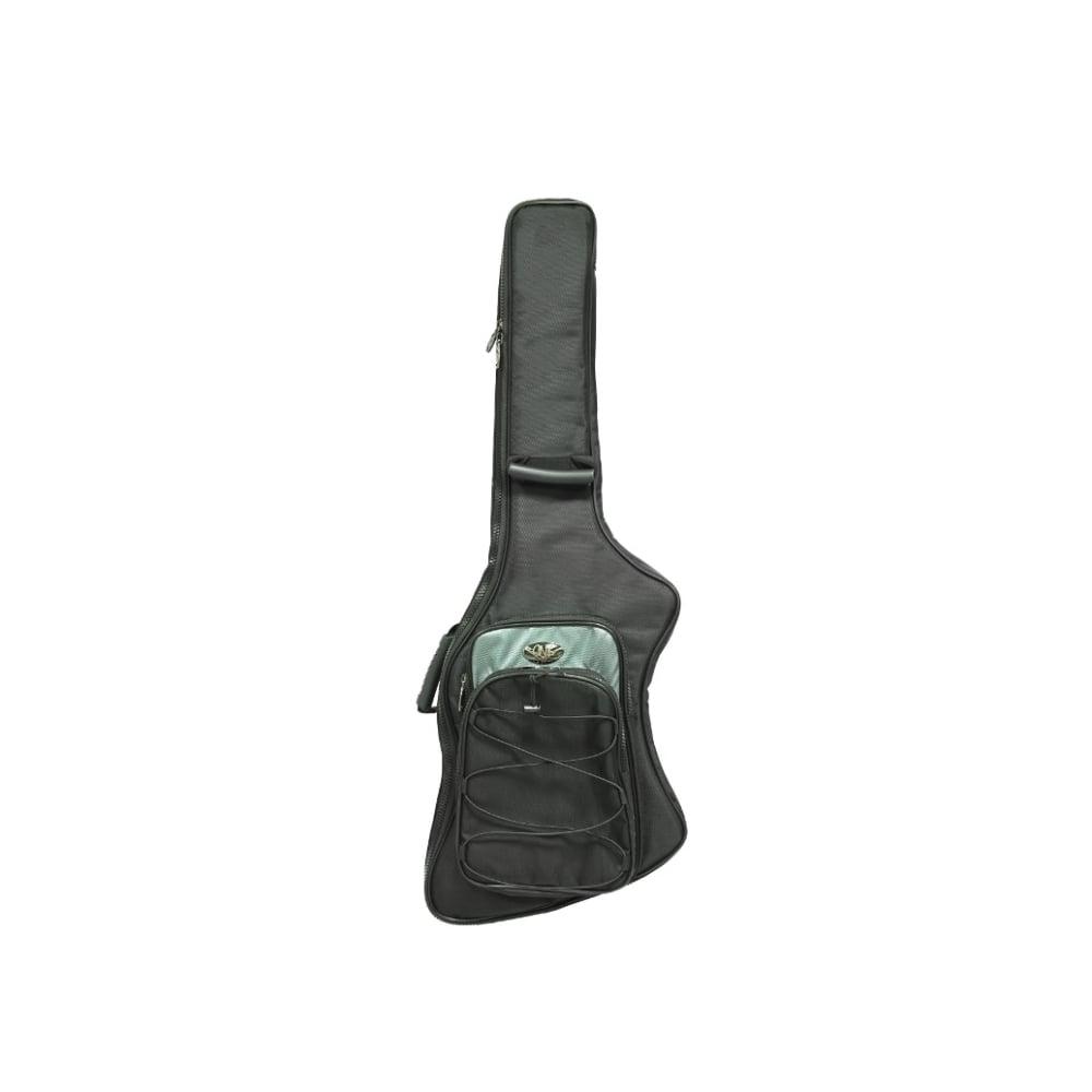 Cnb Electric Guitar Padded Gig Bag For Firebird