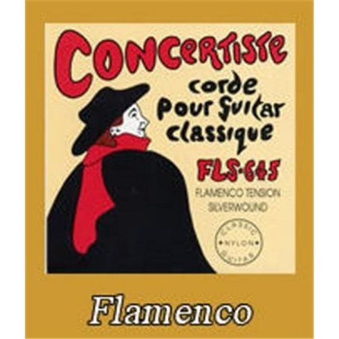 Concertise FLS-645 Silver Wound Classical Flamenco Guitar Strings