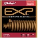 D'Addario 5-String EXP Coated Phosphor Bronze 45-130 Long Scale Acoustic Bass Strings