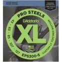 D'Addario 5-String ProSteel Stainless 43-127 Tapered Long Scale Bass Strings