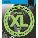 D'Addario 6-String EXL165-6 Nickel Wound 32-135 Long Scale Bass Guitar Strings