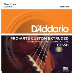 D'Addario EJ65B Pro-Arté Custom Extruded Ukulele Baritone Strings DGBE Tuning