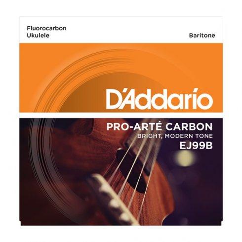 D'Addario D'Addario EJ99B Pro-Arte Carbon Ukulele Baritone Strings for DGBE Tuning