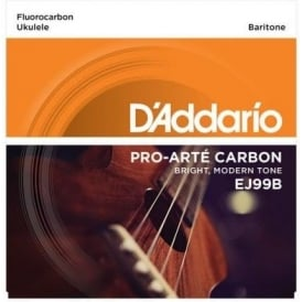 D'Addario EJ99B Pro-Arte Carbon Ukulele Baritone Strings for DGBE Tuning