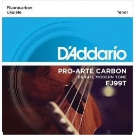 D'Addario EJ99T Pro-Arte Carbon Ukulele Tenor Strings for GCEA Tuning