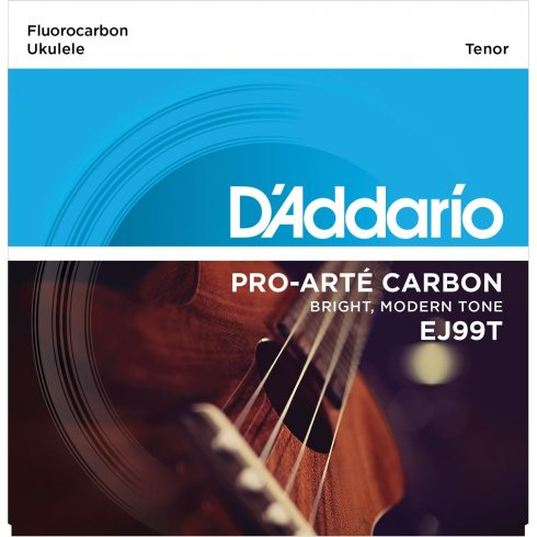 D'Addario D'Addario EJ99T Pro-Arte Carbon Ukulele Tenor Strings for GDEA Tuning