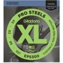 D'Addario 4-String ProSteel Stainless 43-107 Tapered Long Scale Bass Strings