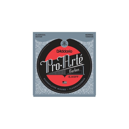 D'Addario EJ45FF Pro Arte Carbon-Dynacore Basses Normal Tension Classical Guitar Strings