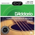 D'Addario Extended Play EXP23 Phosphor Bronze Acoustic Guitar Strings 16-70 Baritone