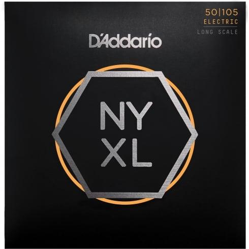 D'Addario NYXL 4-String 50-105 Bass Guitar Strings Long Scale NYXL50105