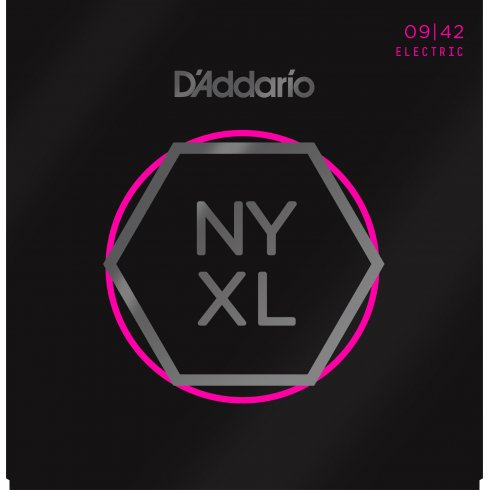 D'Addario NYXL0942 Nickel Wound Electric Guitar Strings 09-42 Super Light