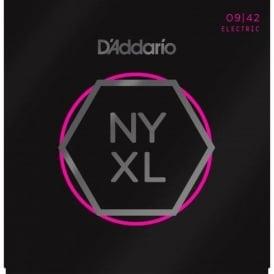 D'Addario NYXL0942 Nickel Wound Electric Guitar Strings 09-42 Super Light