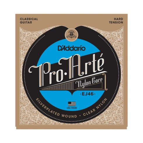 D'Addario EJ46 Pro Arte Classical Nylon Hard Tension Guitar Strings
