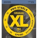 D'Addario EPS180 4-String ProSteel 35-95 Extra Super Light Bass Guitar Strings