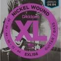 D'Addario EXL156 Nickel Wound Guitar Strings Designed for Fender Bass VI