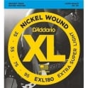 D'Addario EXL180 4-String Nickel Wound 35-95 Long Scale Bass Guitar Strings