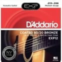 D'Addario Extended Play EXP12 80/20 Bronze Acoustic Guitar Strings 13-56 Medium