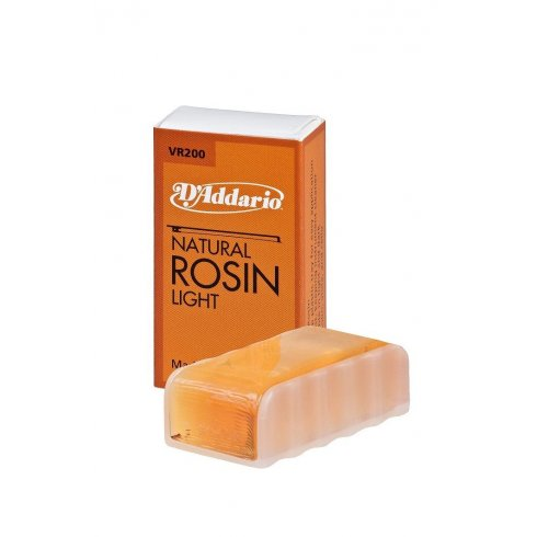 D'Addario Natural Rosin Light VR200 for Bowed Instruments - Violins & Cellos and more