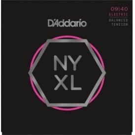 D'Addario NYXL0940BT Nickel Wound Electric Guitar Strings 09-40 Balanced Tension Super Light