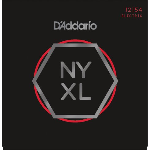 D'Addario NYXL1254 Nickel Wound Electric Guitar Strings 12-54 Heavy