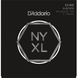 D'Addario NYXL1260 Nickel Wound Electric Guitar Strings 12-60 Extra Heavy