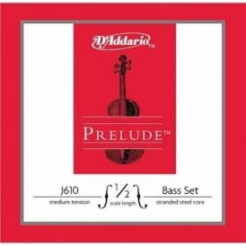 D'Addario Prelude Double Bass 1/2 Scale / Medium Tension