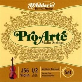 D'Addario Pro Arte Violin 1/2 Scale / Medium Tension