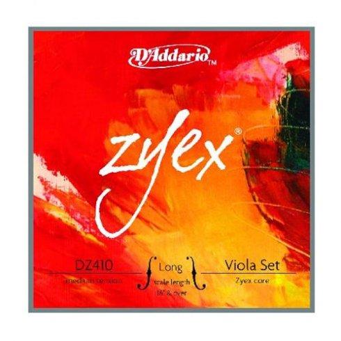 D'Addario Zyex Viola Long Scale / Medium Tension