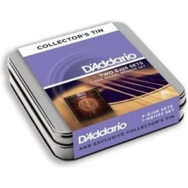 D'Addario EJ26 & Nickel Bronze Acoustic Strings Upgrade 3-Pack Tin - 11-52