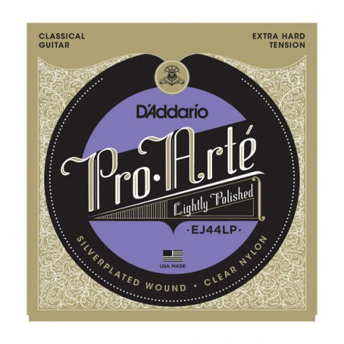 D'Addario EJ44LP Pro Arte Classical Lightly Polished Extra Hard Tension