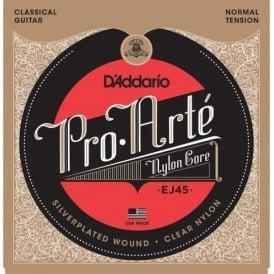D'Addario EJ45 Pro Arte Classical Normal Tension Guitar Strings