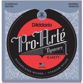 D'Addario EJ45TT Pro Arte Classical Dynacore Normal Tension Guitar Strings