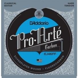 D'Addario EJ46FF Pro Arte Carbon-Dynacore Basses Hard Tension Classical Guitar Strings