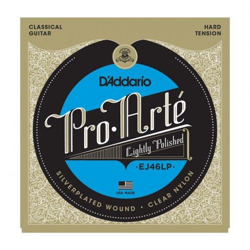 D'Addario EJ46LP Pro Arte Classical Guitar Strings - Lightly Polished Hard Tension