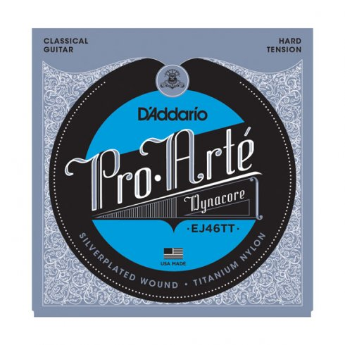 D'Addario EJ46TT Pro Arte Classical Dynacore Hard Tension Guitar Strings