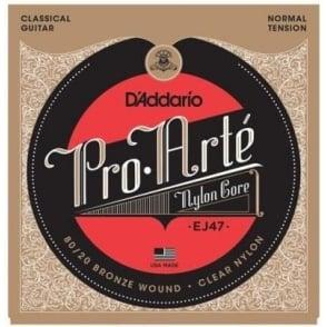 D'Addario EJ47 Pro Arte Classical 80/20 Bronze Wound Normal Tension