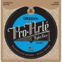 D'Addario EJ50 Pro Arte Classical Guitar Strings - Black Nylon Hard Tension