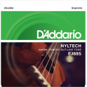 D'Addario EJ88S Nyltech Soprano Ukulele Strings 4-String Full Set