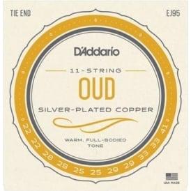 D'Addario EJ95 Oud Silver Wound on Nylon Strings