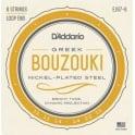 D'Addario EJ97-6 Nickel Wound 6-String Greek Bouzouki 11-22 Strings