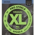 D'Addario EPS165-5 5-String ProSteel Stainless 45-135 Long Scale Bass Strings
