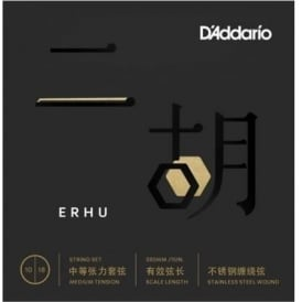 D'Addario ERHU01 Erhu 10-18 Medium Tension Strings