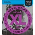 D'Addario EXL120-B25 Nickel Wound Electric Guitar Strings 9-42 Super Light, 25-Set Bulk Shop